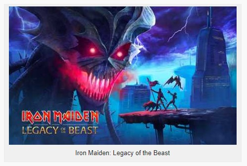 Iron Maiden : Legacy of the Beast 329307 Apk + Mod (Unlimited Blood/Hit) for android