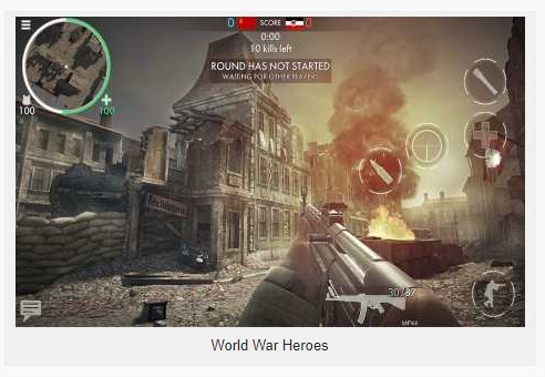 World War Heroes 1.18.0 Apk + Mod (No Reload / VIP / Unlimited Ammo) + Data for android