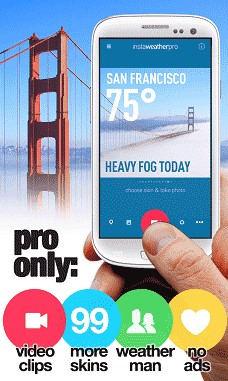 InstaWeather Pro 5.2.22 Apk for Android