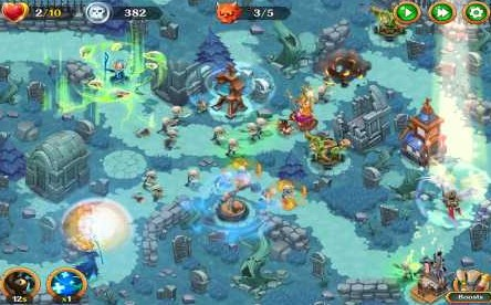 Holy TD: Epic Tower Defense 1.52 Apk + Mod