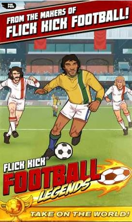 Flick Kick Football Legends Apk + Mod ( lot of money)